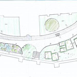 Renovering Af Arealet Ved årbykirkegård